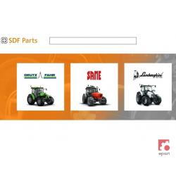Katalog części zamiennych Deutz-Fahr DX 4, DX 6, DX 7