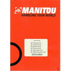 Instrukcja obsługi do ładowarek Manitou MT