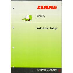 Instrukcja obsługi Claas Rollant 66, Rollant 160