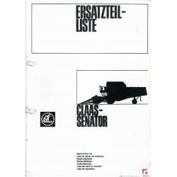 Katalog części do kombajnu Claas Senator
