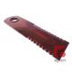 755875.0 Nóż rozdrabniacza słomy ruchomy ząbkowany z tulejką